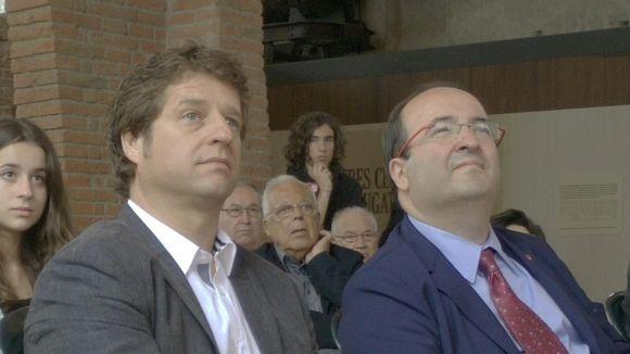 Iceta creu que Pere Soler serà 'la gran sorpresa' a les eleccions municipals