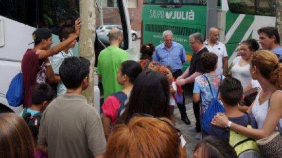 La fundació Pere Tarrés porta de colònies infants de Sant Cugat sense recursos