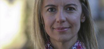 La presidenta de la secció local d'ERC, Mireia Ingla