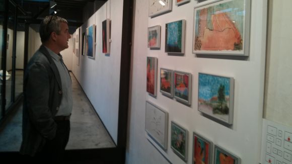 La immediatesa feta pintura de Perico Pastor, a La Galeria
