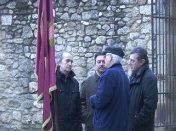 L'entrega de la bandera i la missa solemne donen el tret de sortida a la festitat de Sant Antoni Abat