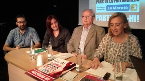 Sant Cugat se suma de nou als actes de La Marató de TV3