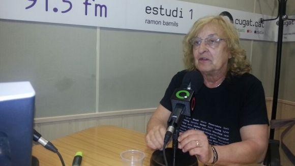 Marta Pessarrodona, distingida amb la Medalla d'Honor de la Ciutat de Terrassa
