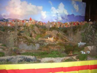 L'exposició 'Figures i Pessebres' es pot veure fins el 15 de gener a la Casa Abacial