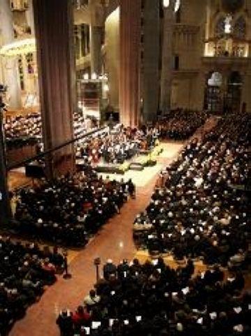 'El Pessebre' de Pau Casals ressona a la Sagrada Família de la mà de músics i cantaires santcugatencs