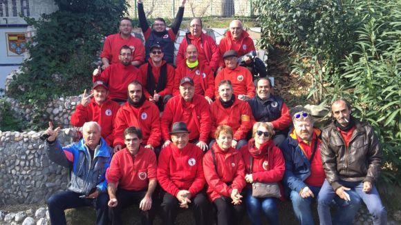 Imatge de l'equip del Club Petanca Sant Cugat / Font: Club Petanca Sant Cugat