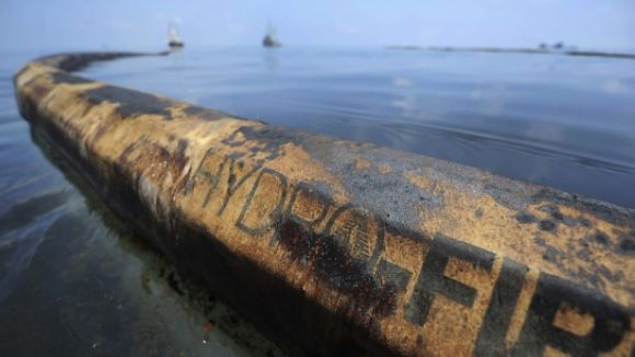 Una imatge d'un vessament de petroli / Foto: ACN