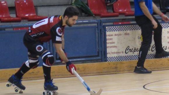 David Martínez ha estat un dels jugadors destacats del matx