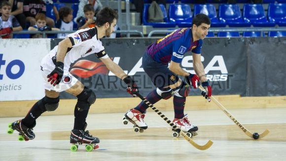 Els santcugatencs van caure a la primera volta / Foto: FC Barcelona
