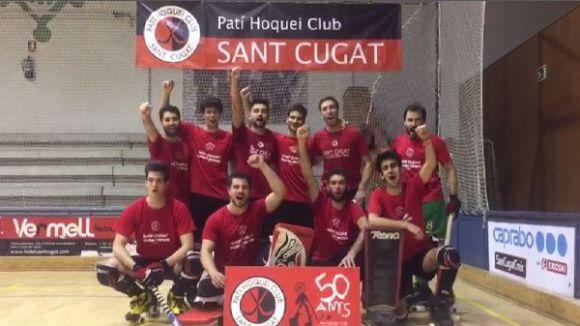 Els jugadors del PHC Sant Cugat