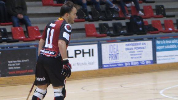 Borja Ferrer, jugador del PHC Sant Cugat
