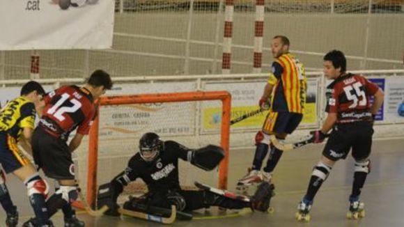 El PHC Sant Cugat marca a mig minut per al final i treu un empat contra el Girona