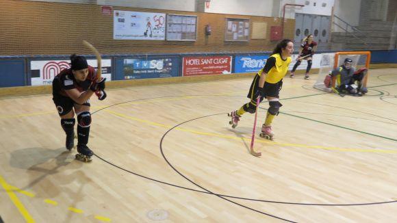 Imatge d'un duel contra el Vila-sana aquesta temporada