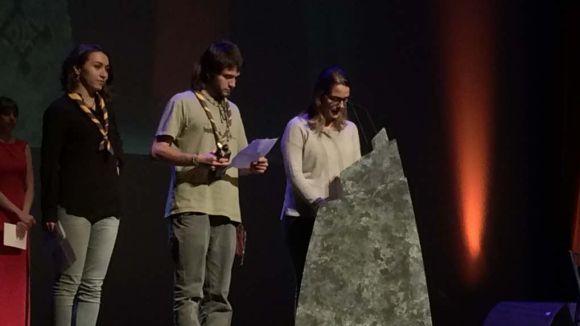 Premi Ciutat de Sant Cugat per a l'Esplai Pica-Roca, que reclama a l'Ajuntament dotar d'espais les entitats