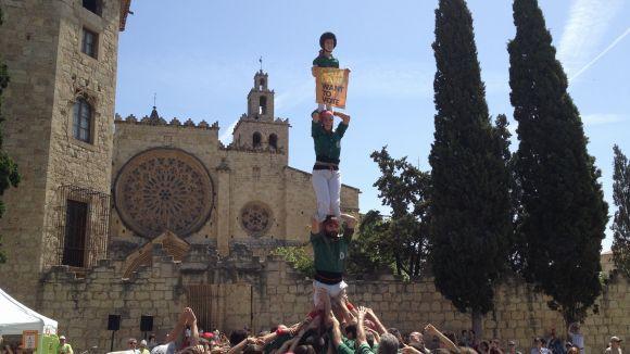 Dos pilars dels Gausacs reclamen el dret a decidir des de Sant Cugat
