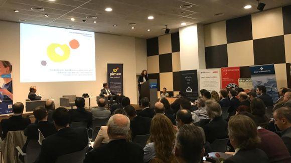 L'alcaldessa, Mercè Conesa, ha inaugurat la trobada / Foto: Pimec