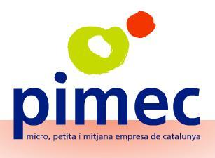 La patronal Pimec ampliarà l'assessorament a les empreses per millorar la productivitat