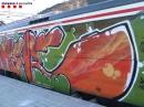 Detinguts dos santcugatencs per presumptes pintades a un tren estacionat a Ripoll