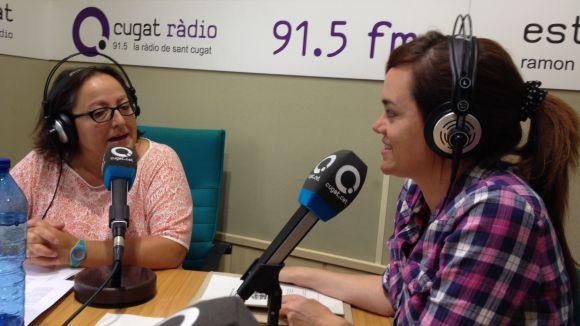 Helena Minuesa presenta l'espai 'Pinzellades Culturals' del SAF