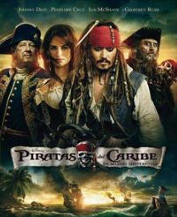 'Piratas del Caribe: En mareas misteriosas' desembarca a la ciutat aquest cap de setmana