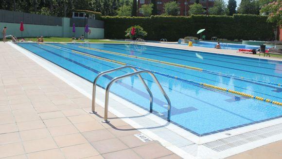 Les piscines municipals han suavitzat l'onada de calor / Foto: Ajuntament