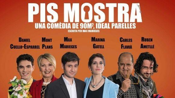 El santcugatenc Max Marieges estrena la seva primera obra al Teatre Borràs