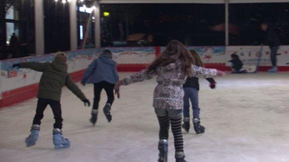 La pista de gel de Josefina Mascareñas obre el primer dia de l'any