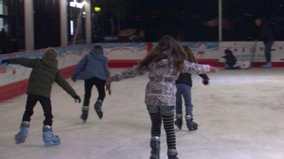 La pista de gel canvia d'ubicació i s'instal·larà a la plaça de la Vila