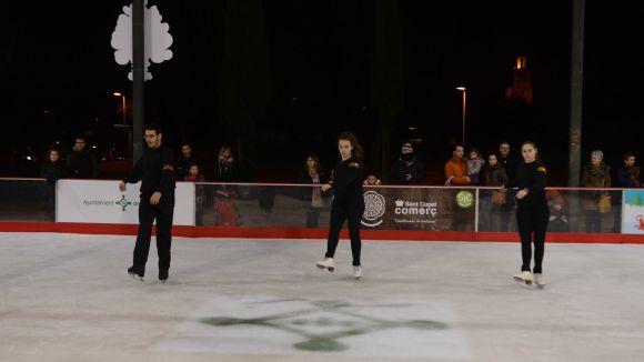 Sant Cugat Comerç vol que la pista de gel s'instal·li a la plaça d'Octavià al 2016