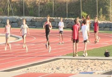 Els atletes a la Guinardera