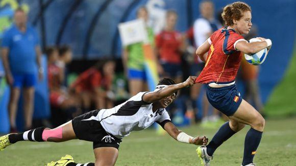 Setè lloc per la 'lleona' Bàrbara Pla i l'espanyol de rugbi a 7 en el seu debut en els Jocs Olímpics