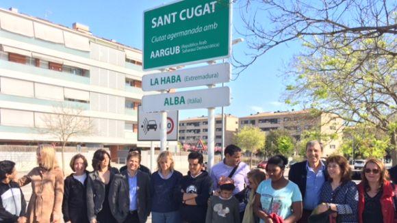 Sant Cugat ja té la placa de ciutat agermanada amb la Daira d'Aargub
