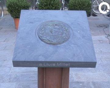 El fundador de l'Orfeó Català i exdirector de La Lira torna a ser protagonista a la ciutat