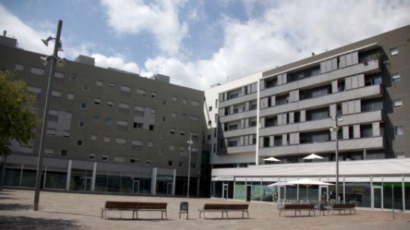 Promoció d'habitatges de protecció oficial de la plaça dels Rabassaires