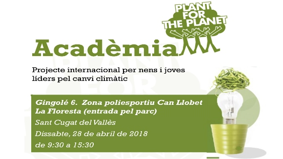 Activitat: 'Acadèmia Plant-for-the-Planet'