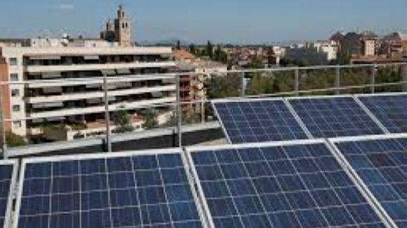 Plaques solar de l'ajuntament