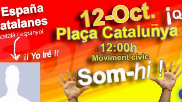 Cartell de la proposta / Font: Plataforma D'Espanya i Catalans