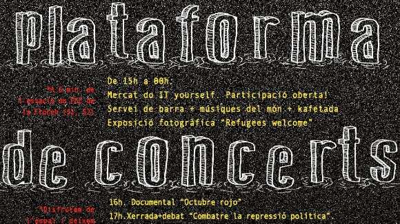 1r aniversari de la Plataforma de Concerts de la Floresta