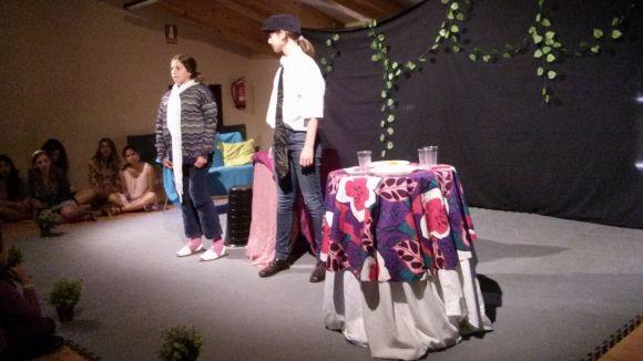 Imatge del curs infantil de l'escola de teatre Platea