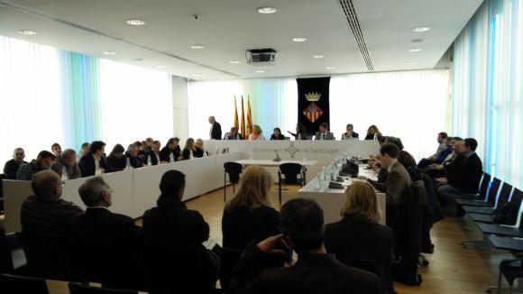 El ple debatrà el compromís contra empreses vinculades amb la producció i venda d'armes