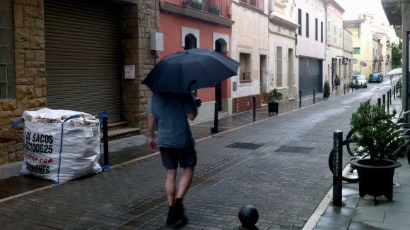 Previsió de pluges aquest dijous a la tarda, a la comarca