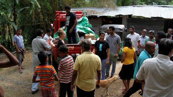 Una santcugatenca engega una campanya per recaptar fons per als afectats per les pluges torrencials a Sri Lanka