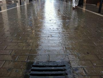 Sant Cugat, en estat de prealerta per la previsió de fortes pluges