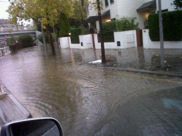 Les pluges passen per Sant Cugat sense incidències destacables