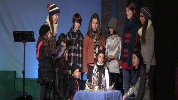 El Nadal arriba a la parròquia amb la lectura dramatitzada del 'Poema de Nadal', de Sagarra