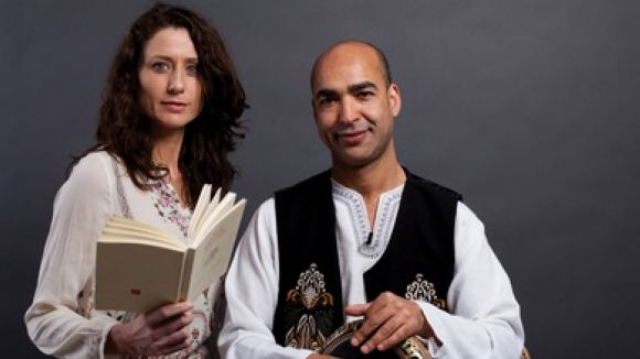 Mònica van Campen i Aziz Khodari porten 'Viatge poètic al Magrib' a la Casa de Cultura