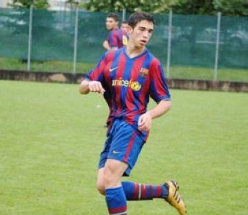 Calvet juga amb el juvenil del Barça la segona jornada de la NextGen Cup