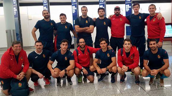 La selecció espanyola de rugbi a 7 / Font: Ferugby.es