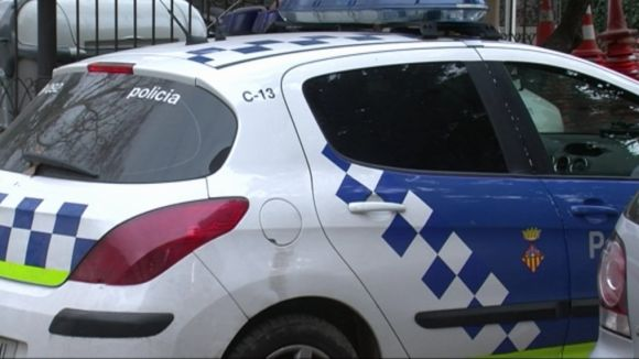 La Policia Local deté el presumpte autor del robatori a una perfumeria del centre