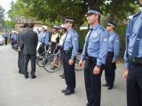L'alcalde i el el regidor de Seguretat han saludat els agents de la Policia Local.